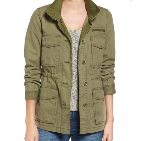 e6aa601e8f2 Madewell Jackets   Blazers - Madewell Catskills Jacket in Military Surplus